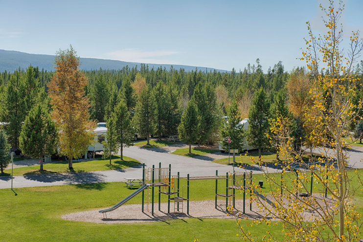 Grizzly RV Park Playground