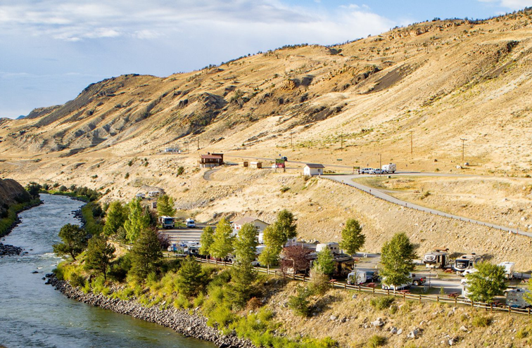 Yellowstone RV Park and River