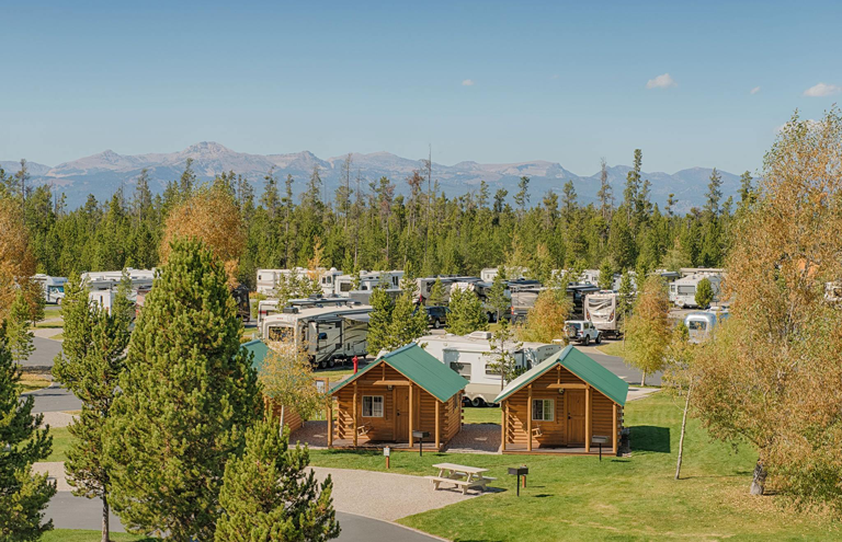 Yellowstone Grizzly RV Park Cabins